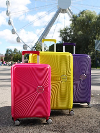 American Tourister Sound Spinner Test
