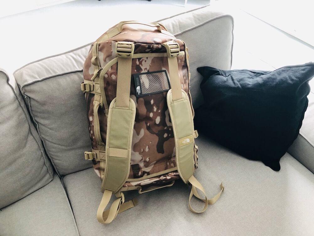 North Face Rucksack Reisetasche Erfahrungen