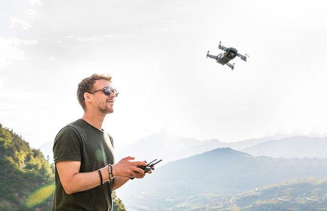Drohnenrucksack Test